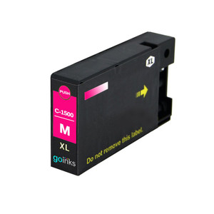 1 Go Inks Magenta Ink Cartridge to replace Canon PGI-1500XLM Compatible / non-OEM for PIXMA Printers
