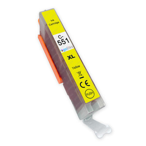 1 Go Inks Yellow Ink Cartridge to replace Canon CLI-551Y Compatible / non-OEM for PIXMA Printers