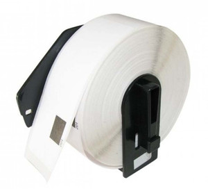 1 Go Inks Compatible Roll of Labels to replace Brother DK-22210 (Labels: Continuous Roll, Size: 29mm x 30.48m)
