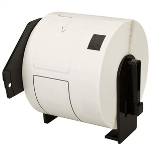 1 Go Inks Compatible Roll of Labels to replace Brother DK-11202 (Labels: 300, Size: 62 x 100 mm)