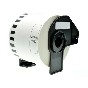 1 Go Inks Compatible Roll of Labels to replace Brother DK-22205 (Labels: Continuous Roll Size: 62mm x 30.48m)