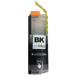 1 Go Inks Black Ink Cartridge to replace Brother LC223BK Compatible / non-OEM for Brother DCP & MFC Printers