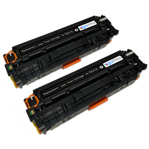 2 Go Inks Black Laser Toner Cartridges to replace HP CF210X Compatible / non-OEM for HP Colour & Pro Laserjet Printers