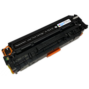 1 Go Inks Black Laser Toner Cartridge to replace HP CE410X Compatible / non-OEM for HP Colour & Pro Laserjet Printers