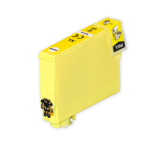 1 Go Inks Yellow Ink Cartridge to replace Epson 502XLY Compatible / non-OEM for Epson WorkForce & Expression Printers
