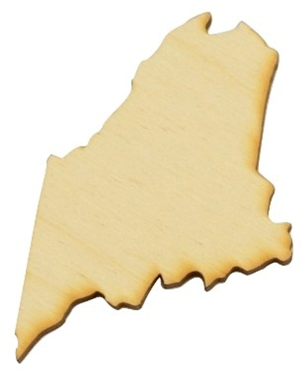 Kentucky US State Laser Cut Out Wood Shape Craft Supply