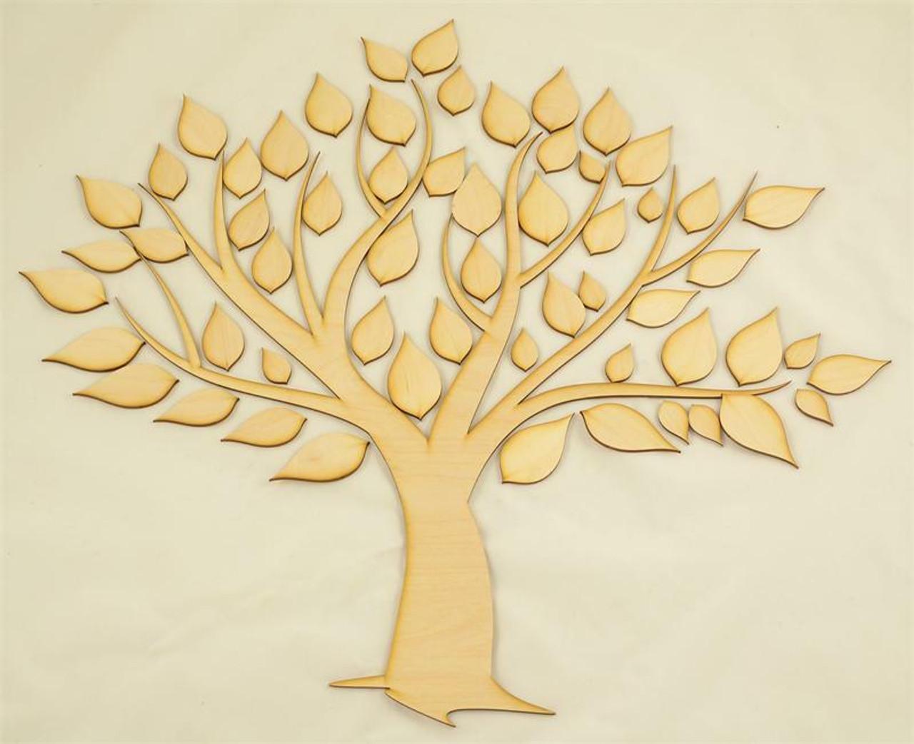 Family Tree Wood Cutout
