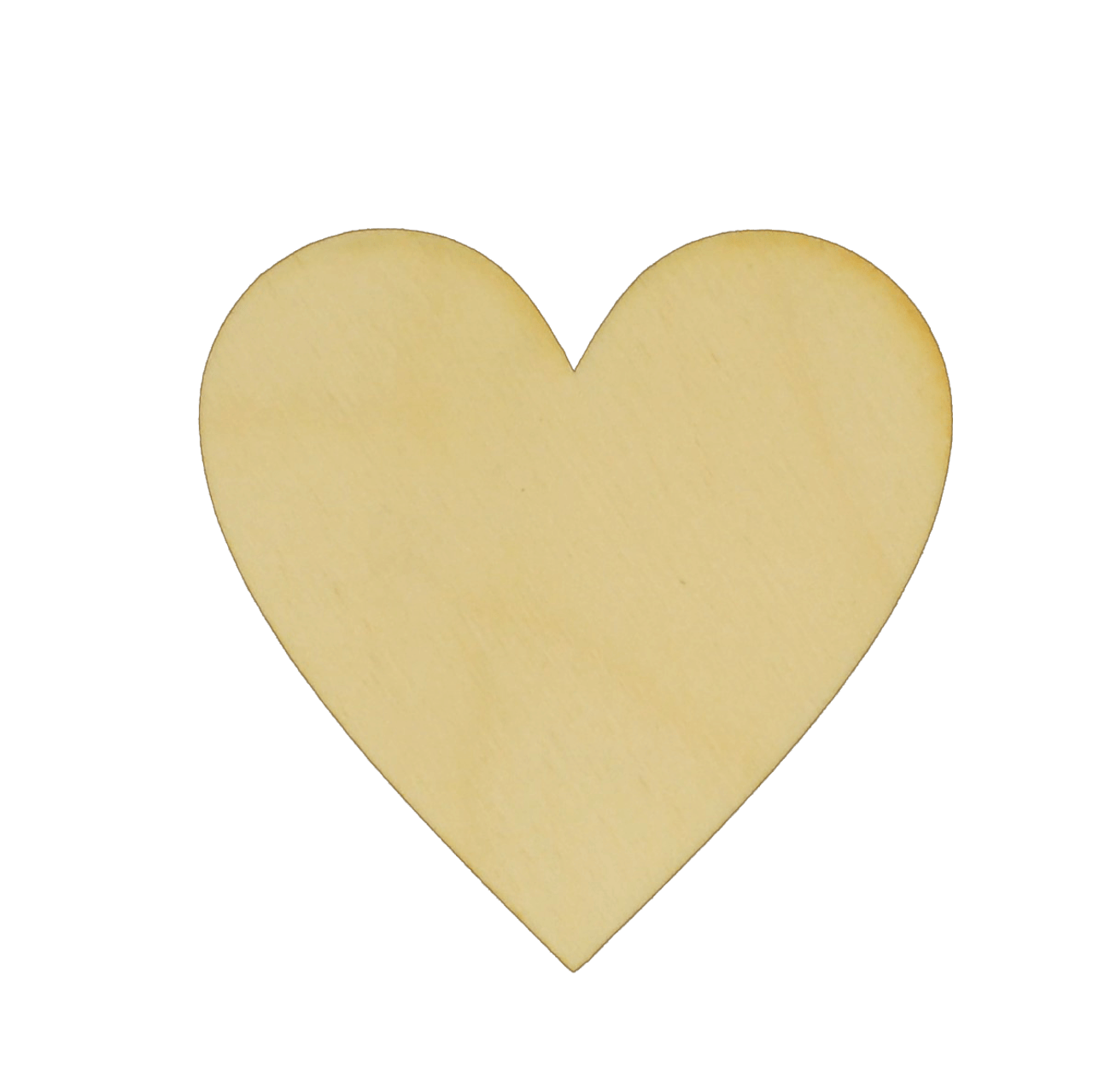 Large Heart Hearts Love pattern Embellishment MDF Birch Laser Cut Wooden Shapes