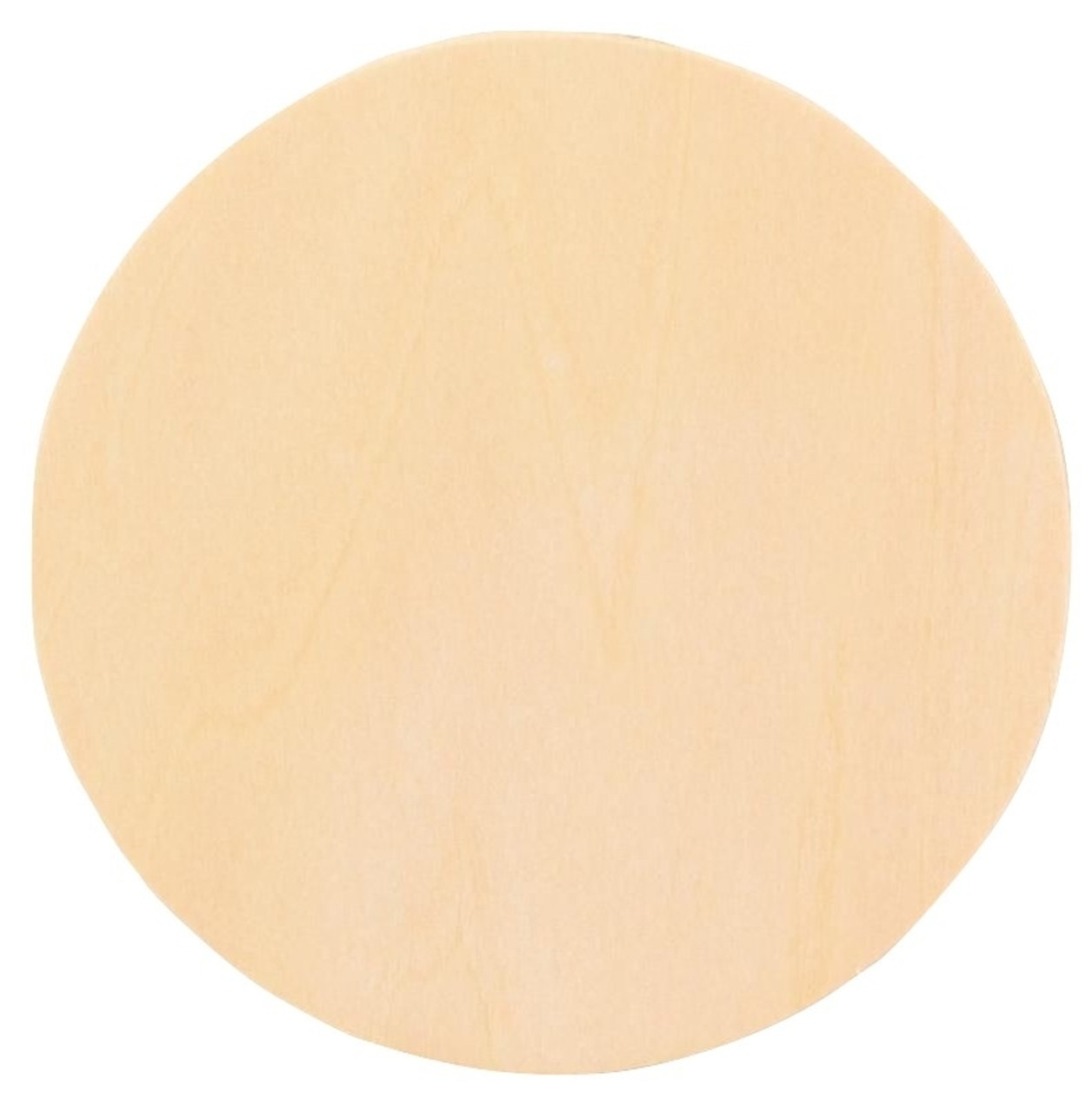 """Discs for Unfinished Wood Crafts 6 pieces Large 3/"""" Wood Circles"""