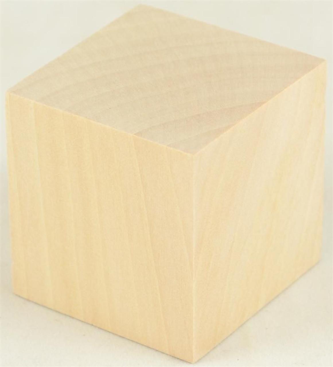 Wooden Cubes 34 Hardwood Blocks Sold In Lots Of 100