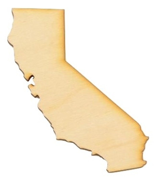 State Cutouts | State Shapes | Wood Cutouts of States