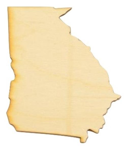Georgia State Cutout
