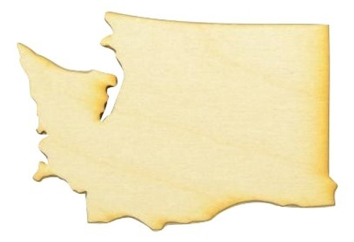 State Cutouts State Shapes Wood Cutouts Of States