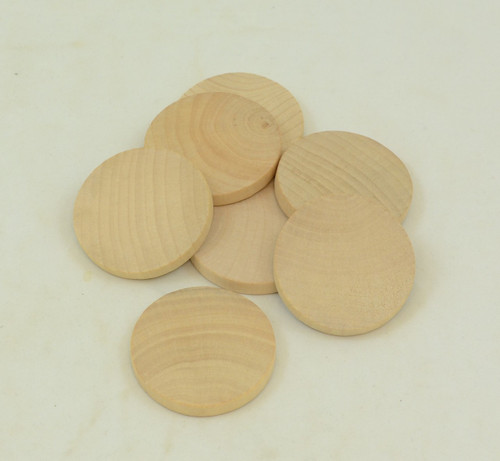Thick Wooden Circles Precut Unfinished Wood Circles