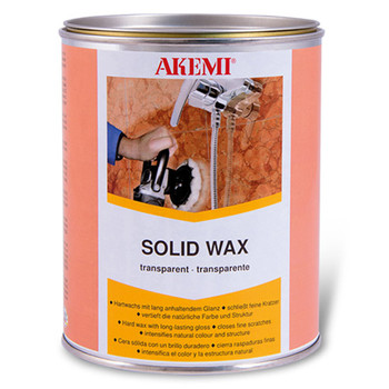 Akemi Solid Wax 900ml Black
