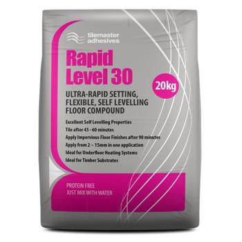 Tilemaster Rapid Level 30 20kg