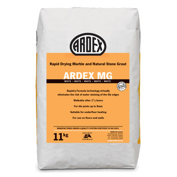 ARDEX MG Flexible Rapid Set Tile & Stone Grout 11kg