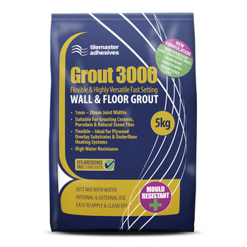 Tilemaster Grout 3000 NEW FORMULATION 5kg