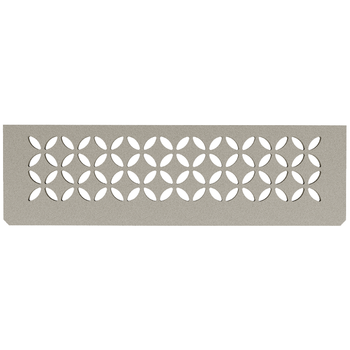 Schluter Shelf N-S1 Floral Textured Finished Aluminium Stone Grey