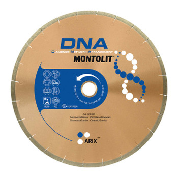Montolit SCX DNA 250mm Diamond Blade