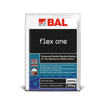 BAL Flex One S1 Adhesive White 20kg