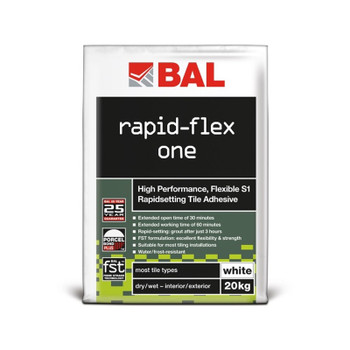 BAL Rapid-Flex One White 20kg