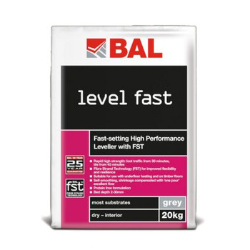 BAL Level Fast Grey 20kg