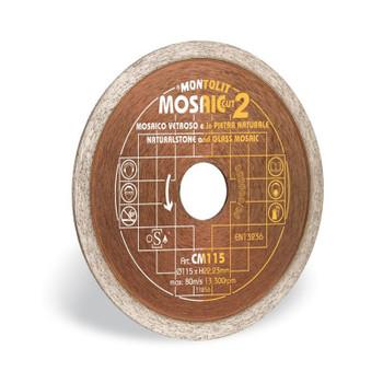 Montolit Mosaic Blade CM 115mm Diamond Blade