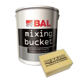 BAL Mixing Bucket & Hand Sponge