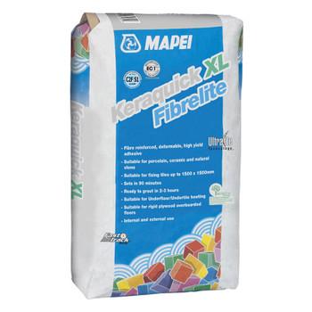 Mapei Keraquick XL Fibrelite White 15kg