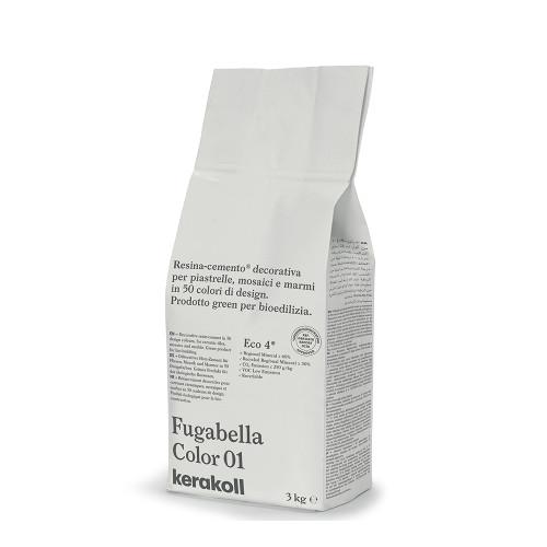 Kerakoll Fugabella Color Resin-Cement High Flexibility Rapid Wall & Floor Grout 3kg
