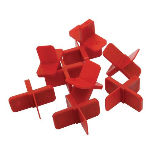 Genesis Multi Tile Spacers (1mm, 2mm, 3mm, 4mm) – Pack of 50
