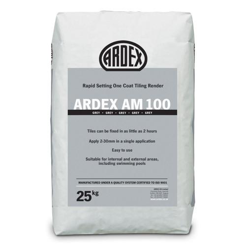 ARDEX AM 100 Rapid Set One Coat Tiling Render 25kg