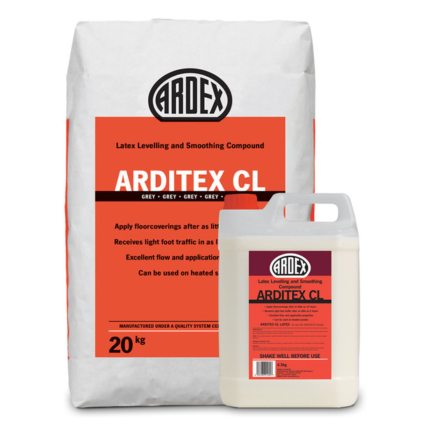 ARDEX Arditex CL Part A (Powder) 20kg + Part B (Latex) 4.5kg