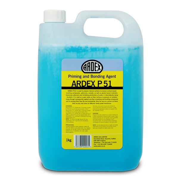 ARDEX P 51 Concentrated Water-Based Primer & Bonding Agent 1kg