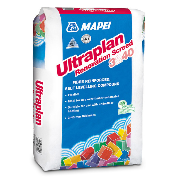 Mapei Ultraplan Renovation Screed 3240 25kg