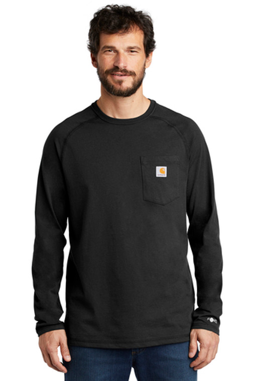 Carhartt Force ® Cotton Delmont Long Sleeve T-Shirt