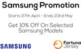 Samsung 10% Off Promotion 2021