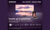 Free Flip phone with 8K Samsung