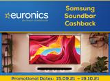 Samsung Soundbar Cash-back Promotion 2021