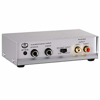 BT26 microphone preamp
