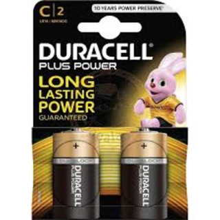 MN1400 Duracell 'C' Battery 2 Pack