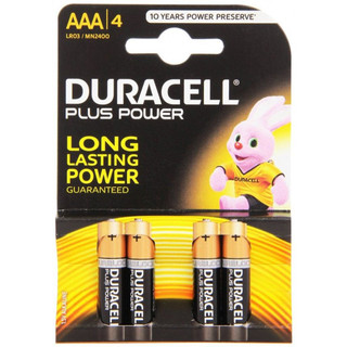 MN2400 Duracell 'AAA' Battery 4 Pack