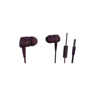 38012 Smartsound Stereo Earphones with Microphone Berry