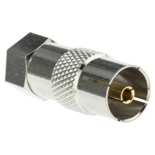 43103 Coax to F Type Connector to Male