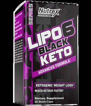 Nutrex - Lipo-6 Black Keto