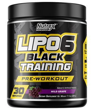 Nutrex - Lipo-6 Black Training Pre-Workout