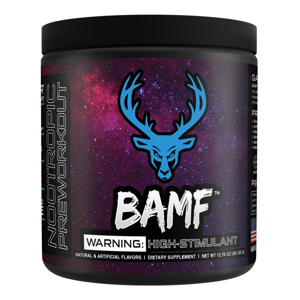 Bucked Up - Lit (BAMF) AF High Stim Pre-Workout