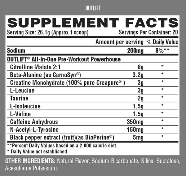 Nutrex - Outlift Pre-Workout