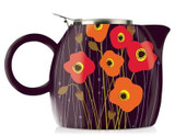 PUGG TEAPOT WITH INFUSER-POPPY FIELDS